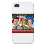 Three Budgeteers from Wisconsin iPhone 4 Covers