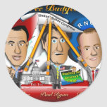 Three Budgeteers from Wisconsin Classic Round Sticker