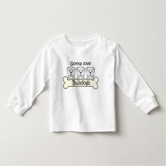 Three Bulldogs T Shirt