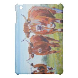 Three  Bulls Painting iPad Mini Cases
