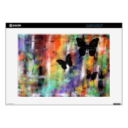 "Three Butterflies 15"" Laptop Skin"
