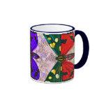Three Butterflies Coffee Mugs