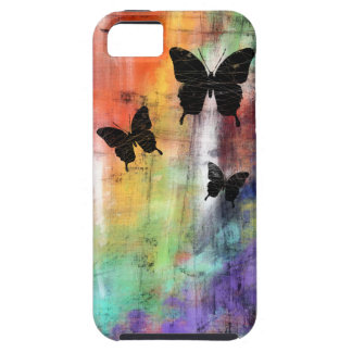 Three Butterflies iPhone SE/5/5s Case