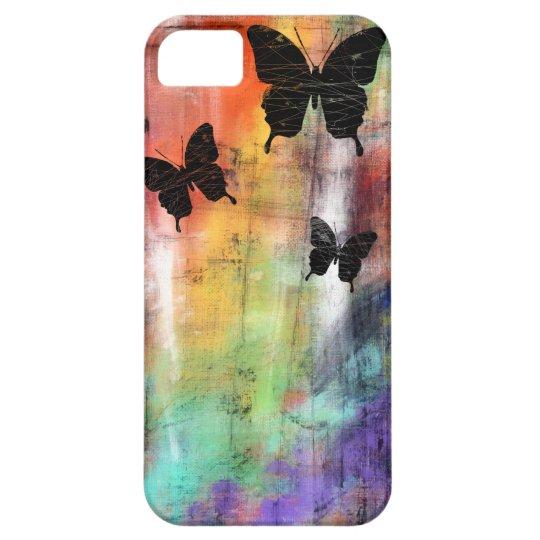 Three Butterflies iPhone SE/5/5s Case