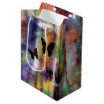 Three Butterflies Medium Gift Bag