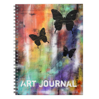 Three Butterflies Notebook