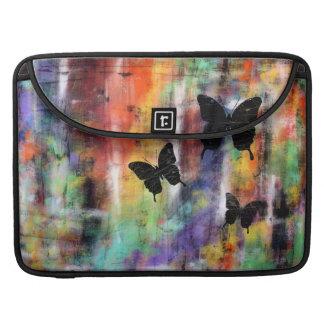 Three Butterflies Sleeve For MacBook Pro