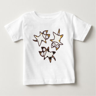 Three Calico Bicolor Cats Baby T-Shirt