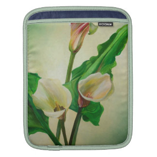 Three Calla Lilies Sleeves For iPads