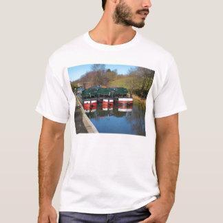 Three canal boats T-Shirt