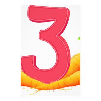 Three carrots stationery