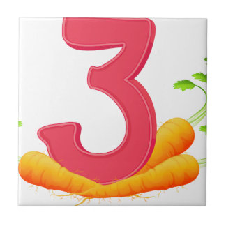 Three carrots tile