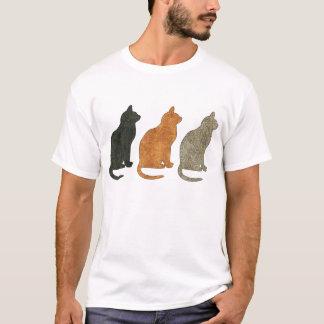 Three Cats Cat T Shirt