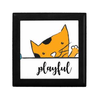 three cats jewelry box