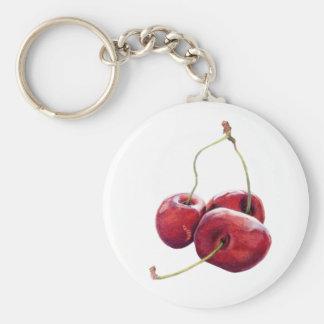 Three Cherries Keychain