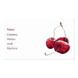 Three Cherries Profile Card