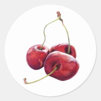 Three Cherries Sticker