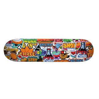 Three Chicken Legs Skateboard Deck