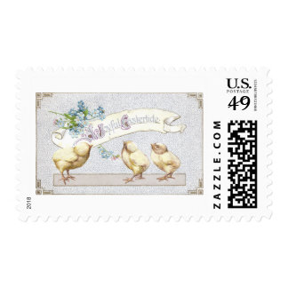 Three Chicks Eastertide Stamps