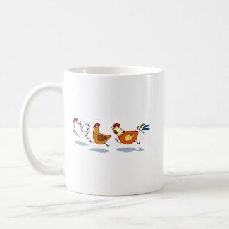 Three Chicks mug