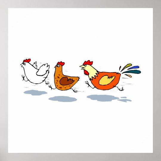Three Chicks Poster