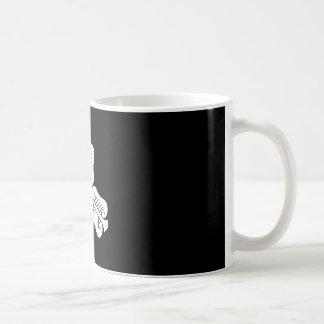 Three China round fan Coffee Mug