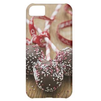 Three chocolate lollipops iPhone 5C case