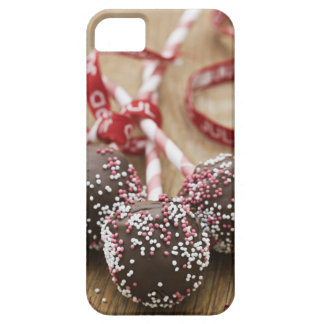Three chocolate lollipops iPhone SE/5/5s case