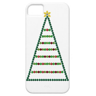 Three Christmas Trees iPhone SE/5/5s Case