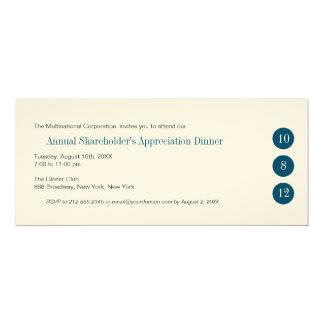 Three Circles Corporate Invitation