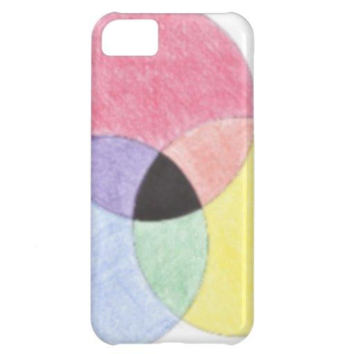 Three Circles Phone Case iPhone 5C Cover