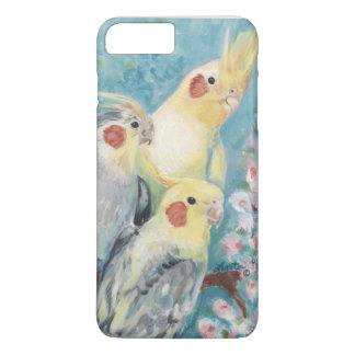 Three Cockatiels iPhone 8 Plus/7 Plus Case