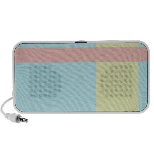 Three Color Palette Combination Complementary Mix Mini Speakers