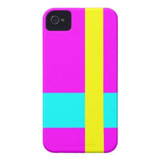 Three Color Palette Combination - Harmonious Mix iPhone 4 Case-Mate Case