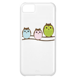 Three Colorful Owls iPhone 5C Case