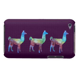 Three Colorwashed Llamas iPod Touch Case-Mate Case