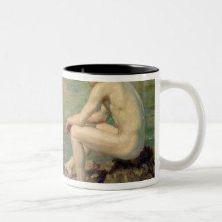 Three Companions Two-Tone Coffee Mug