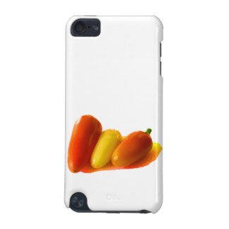 Three Cone White Habanero Peppers Orange Yellow iPod Touch 5G Cover