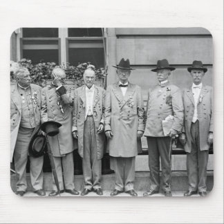 Three Confederate Generals, 1917 Mouse Pad
