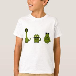Three Cool Dinosaurs T Shirt