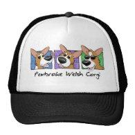 Three Corgi Boxes Hat