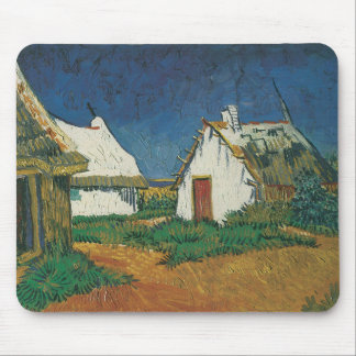 Three Cottages in Saintes-Maries-de-la-Mer Mouse Pad