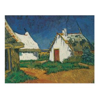 Three Cottages in Saintes-Maries-de-la-Mer Post Cards