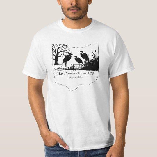 Three Cranes Grove 10 year shirt