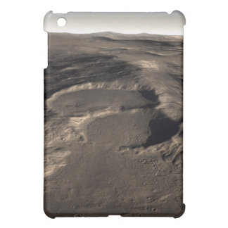 Three craters in the eastern Hellas region of M iPad Mini Cover