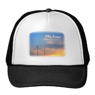 Three Crosses and Sunrise Trucker Hat