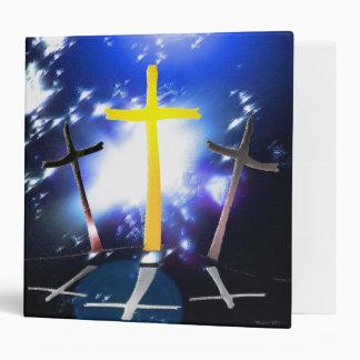 Three Crosses At Calvary Binder