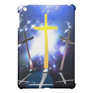 Three Crosses At Calvary iPad Mini Cover