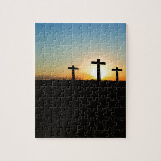 Three crosses jigsaw puzzle