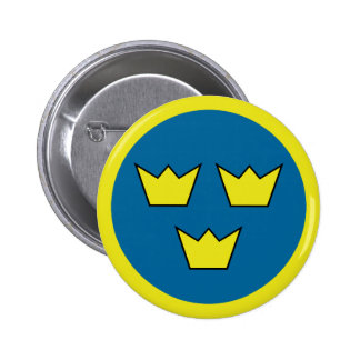 """Three Crowns"" Buttons"